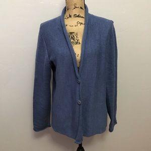 Eileen Fisher 100% Merino Wool Cardigan Sweater